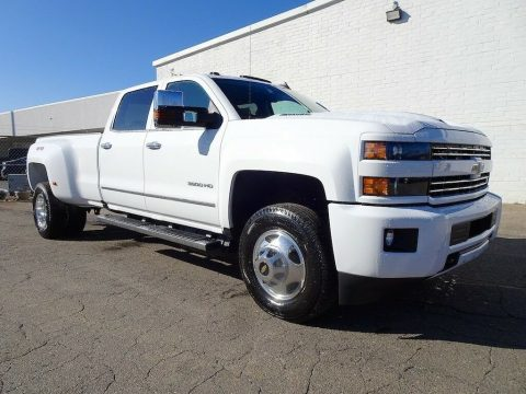 loaded 2019 Chevrolet Silverado 3500 LTZ crew cab for sale