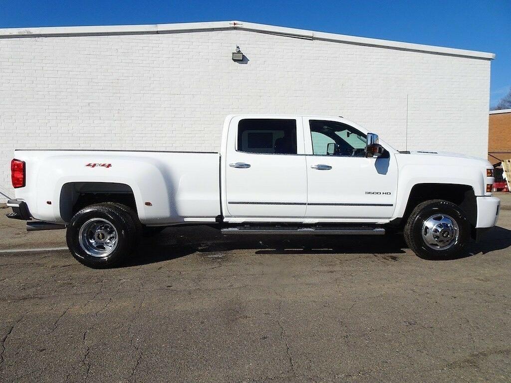 loaded 2019 Chevrolet Silverado 3500 LTZ crew cab