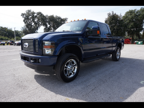 low miles 2009 Ford F 250 Harley Davidson Super DUTY crew cab for sale