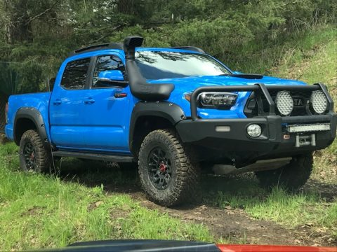 well modified 2019 Toyota Tacoma TRD Pro crew cab for sale