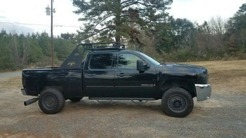 well running 2007 Chevrolet Silverado 2500 2500hd crew cab for sale