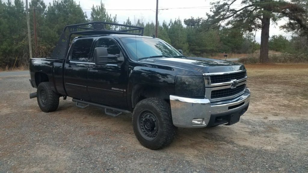 well running 2007 Chevrolet Silverado 2500 2500hd crew cab