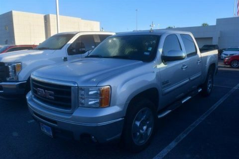 low miles 2010 GMC Sierra 1500 SLE crew cab for sale