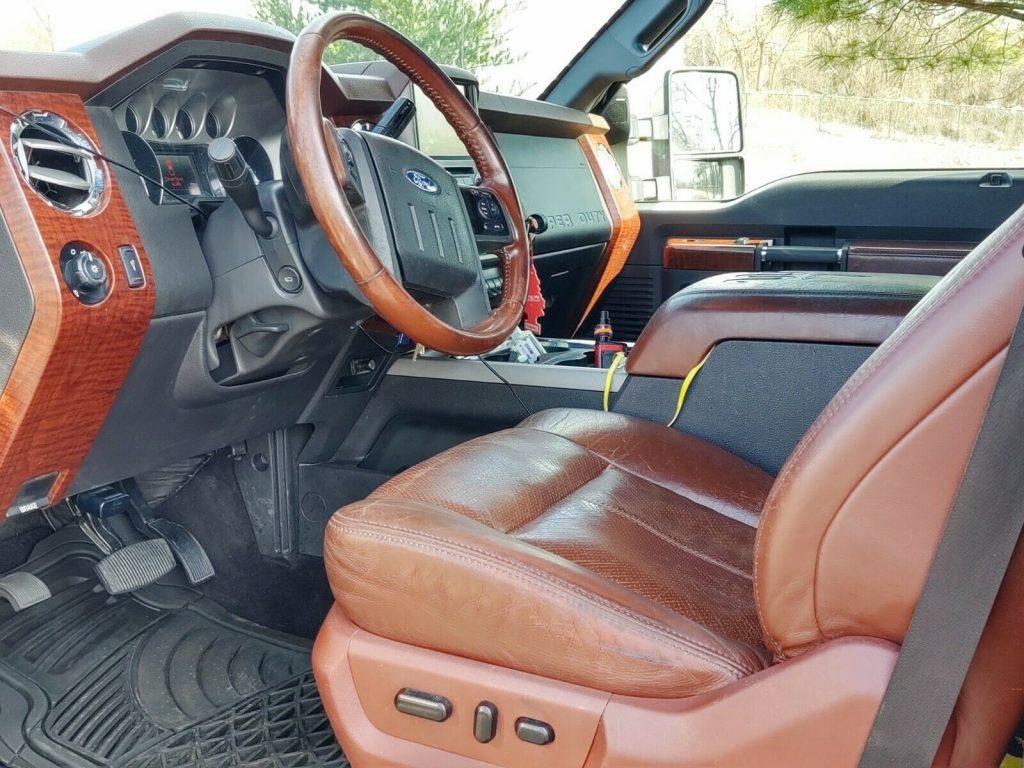 custom 2013 Ford F 350 Super DUTY king ranch crew cab