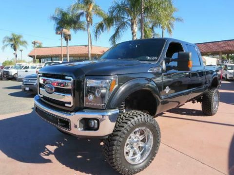custom lifted 2012 Ford F-250 LARIAT crew cab for sale