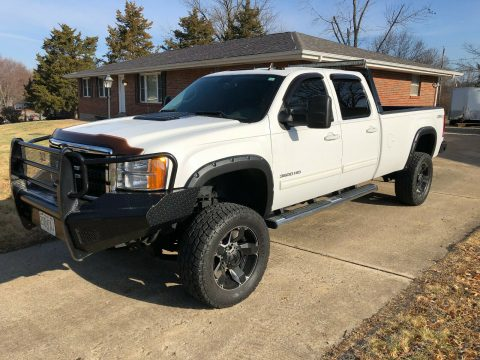 loaded 2011 GMC Sierra 3500 K3500 SLT crew cab for sale