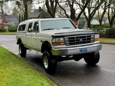 rust free 1995 Ford F 350 XL crew cab for sale