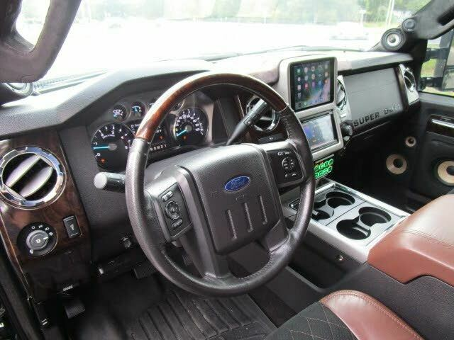 fully serviced 2015 Ford F 350 Platinum crew cab