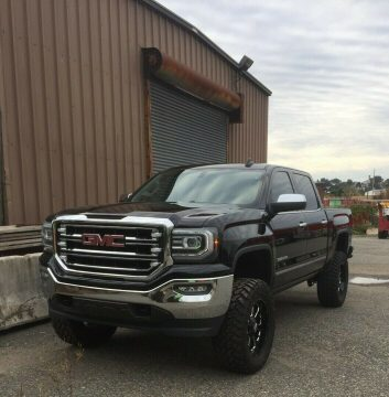 low miles 2016 GMC Sierra 1500 K1500 SLT crew cab for sale
