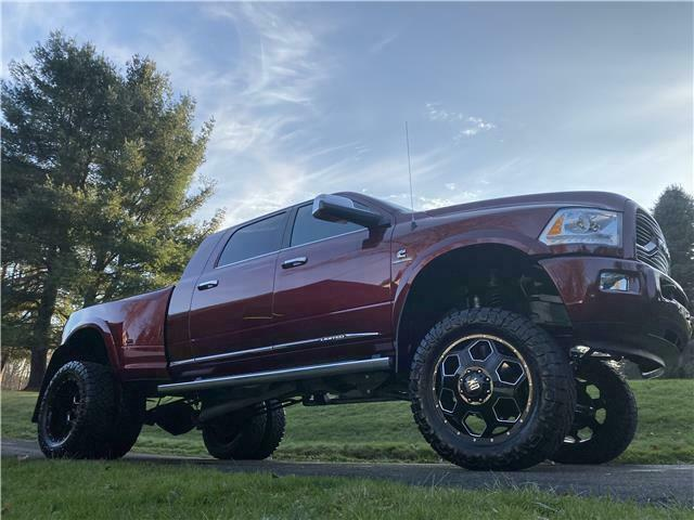 well equipped 2016 Ram 3500 Longhorn Limited crew cab