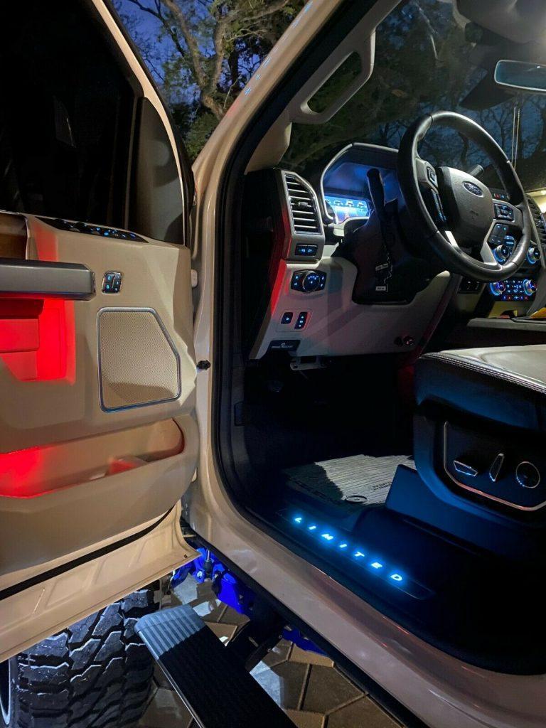 badass 2018 Ford F 250 Limited Super DUTY crew cab