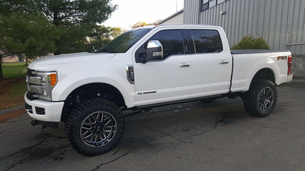 every option available 2017 Ford F 350 Platinum crew cab