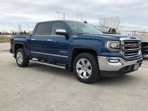Loaded and low miles 2018 GMC Sierra SLT 1500 crew cab for sale