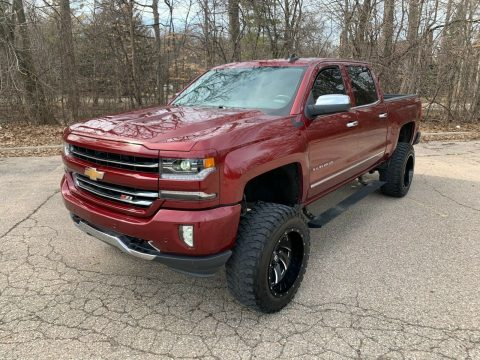 loaded with goodies 2016 Chevrolet Silverado 1500 LTZ crew cab for sale