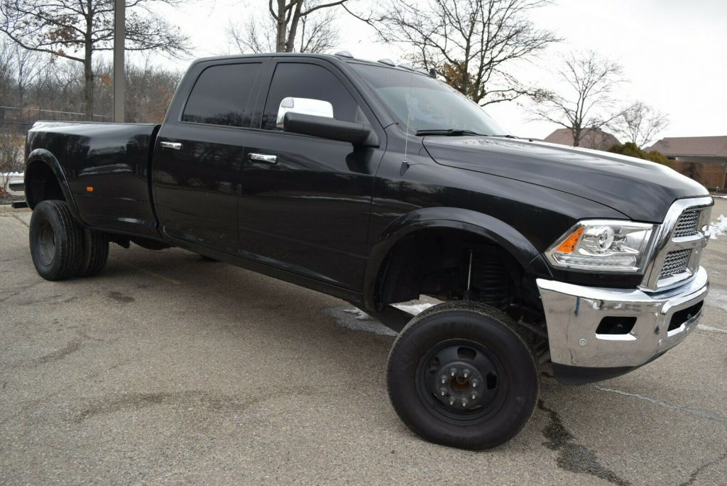 one of a kind 2018 Dodge Ram 3500 Laramie Edition crew cab