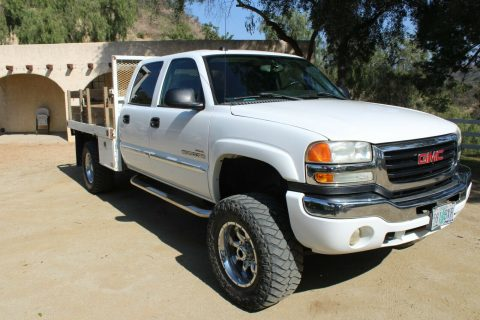 well equipped 2005 GMC Sierra 2500 SLT HD crew cab for sale