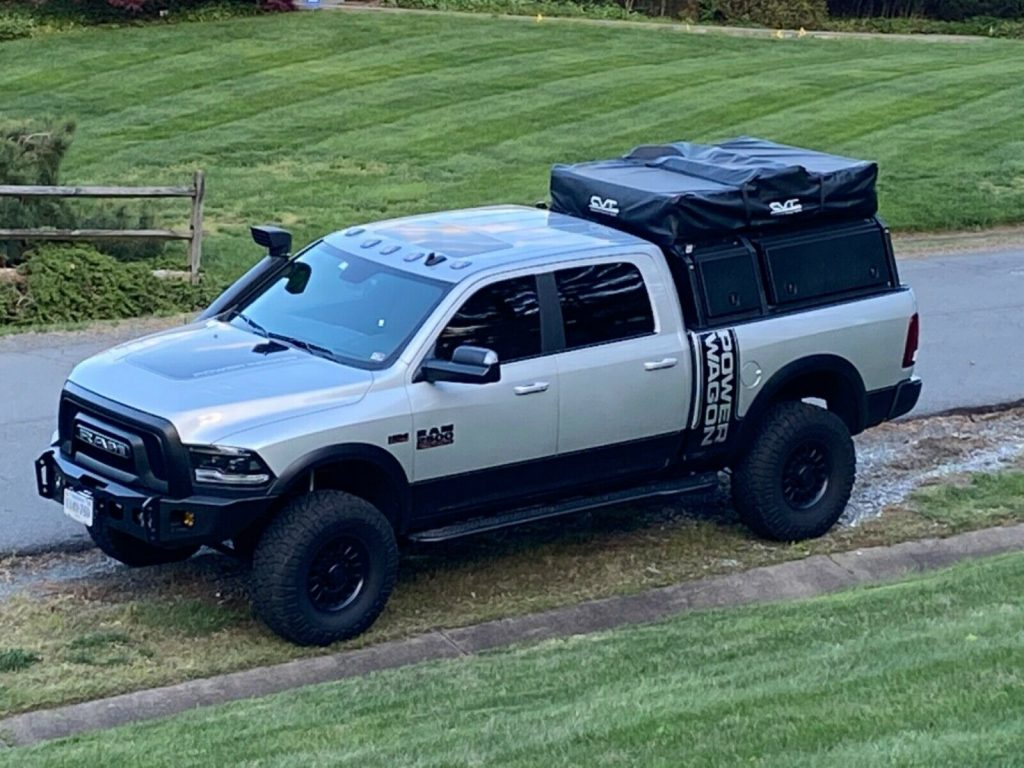 well modified 2018 Ram 2500 crew cab