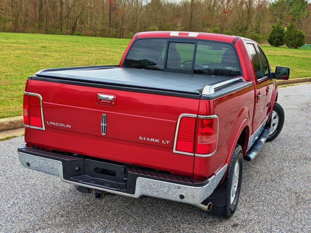 low miles 2008 Lincoln Mark Series LT crew cab