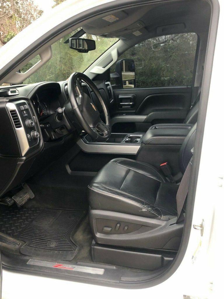 upgraded 2015 Chevrolet Silverado 2500 LTZ crew cab