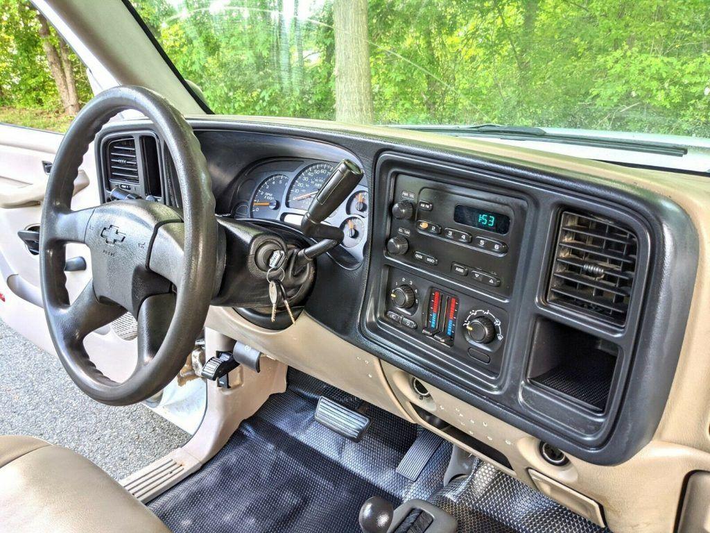 low miles 2006 Chevrolet Silverado 2500 crew cab