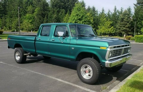 Very Clean 1973 Ford F 350 crew cab for sale