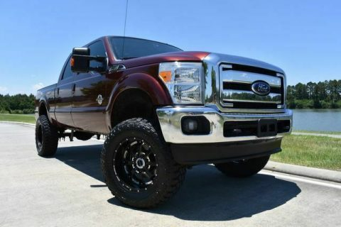 well equipped 2015 Ford F 250 Lariat crew cab for sale