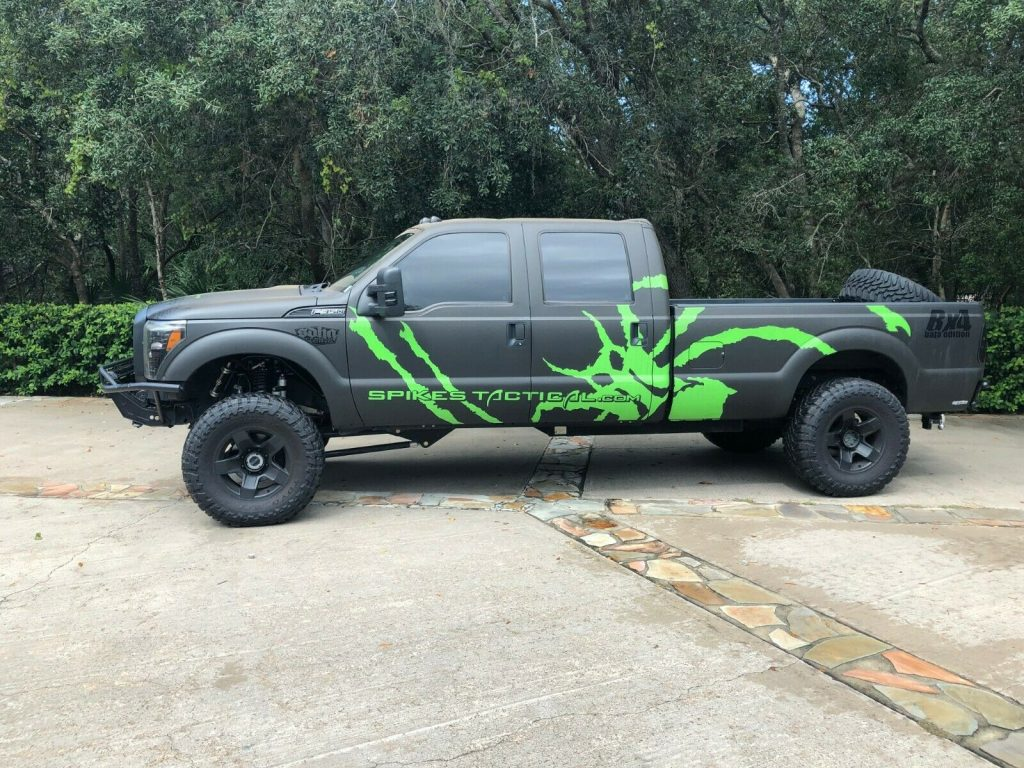 low miles 2012 Ford F 350 Baja Edition crew cab