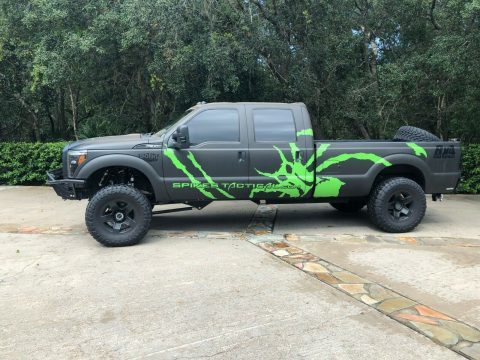 low miles 2012 Ford F 350 Baja Edition crew cab for sale