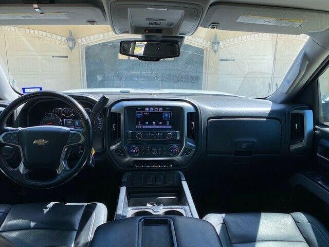 modified 2015 Chevrolet Silverado 1500 K1500 LTZ crew cab