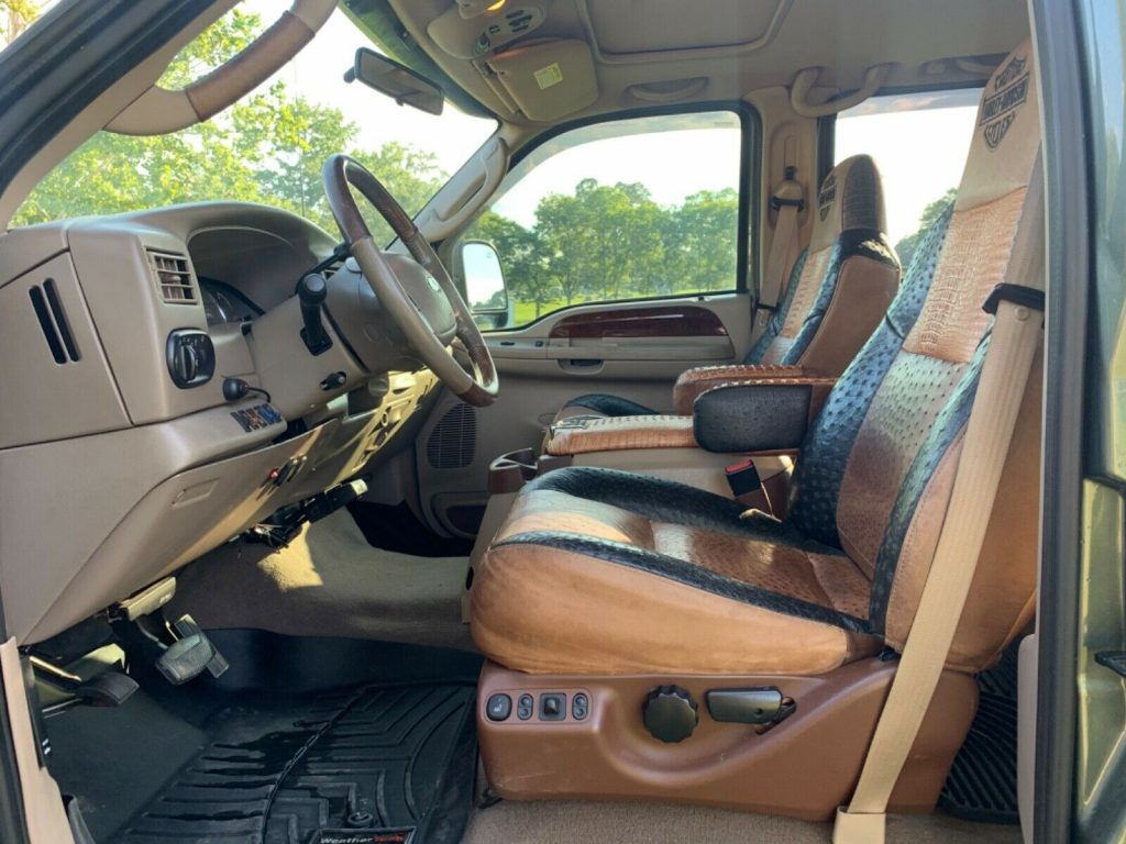 one of a kind 2003 Ford F 350 Harley Davidson crew cab