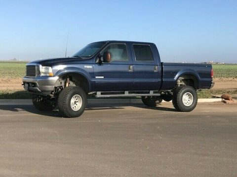 some imperfections 2003 Ford F 250 Super DUTY crew cab for sale